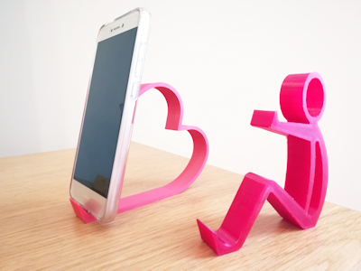 Unique 3D Printed Cellular Phone Holders